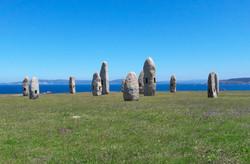 Menhires pola Paz, A Coruña, Galicia