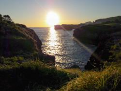 Sunrise at Buelna, Asturias