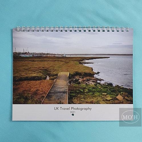 2021 UK Travel Calendar