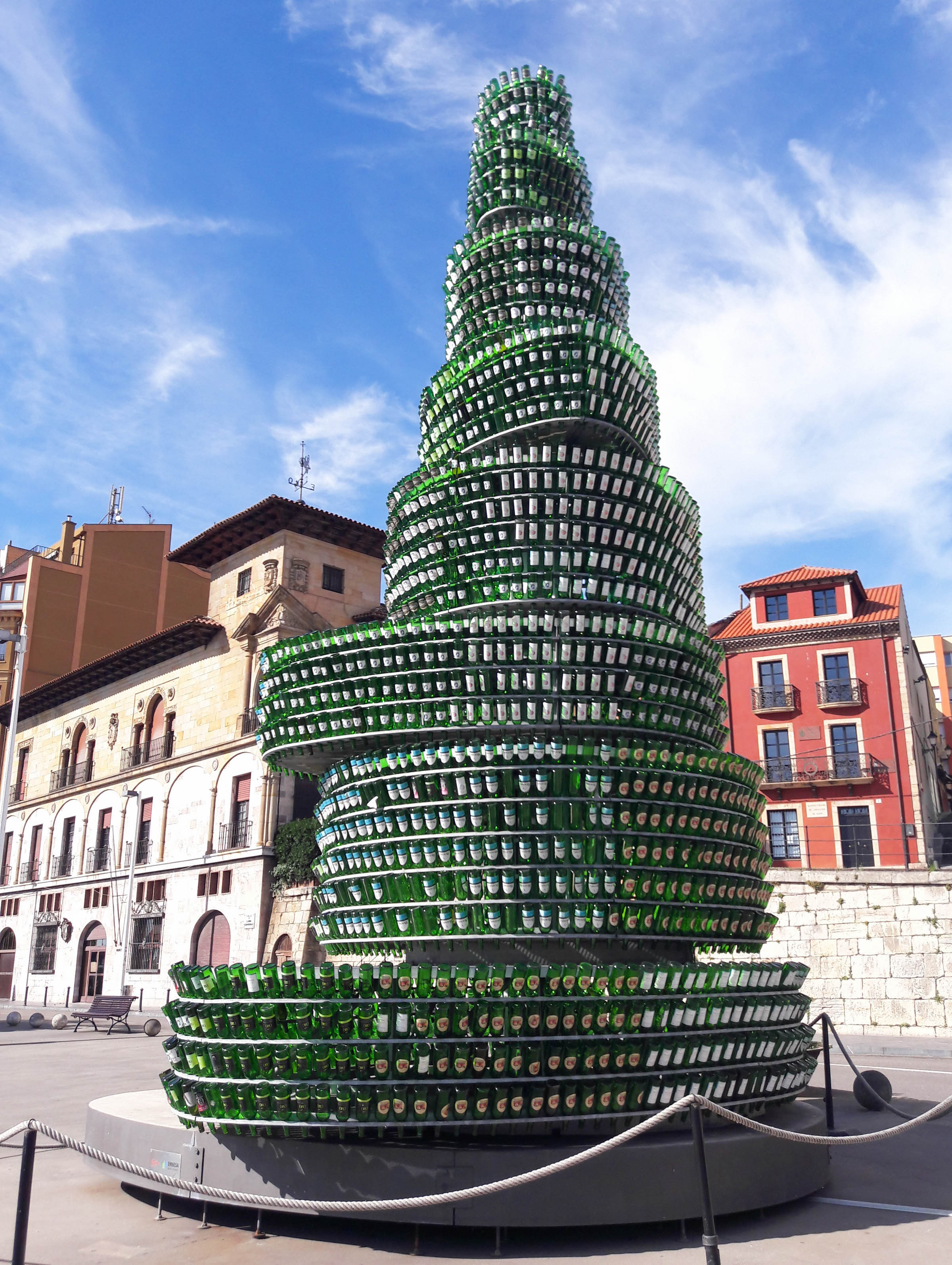 Bottle tree, Gijón, Asturias