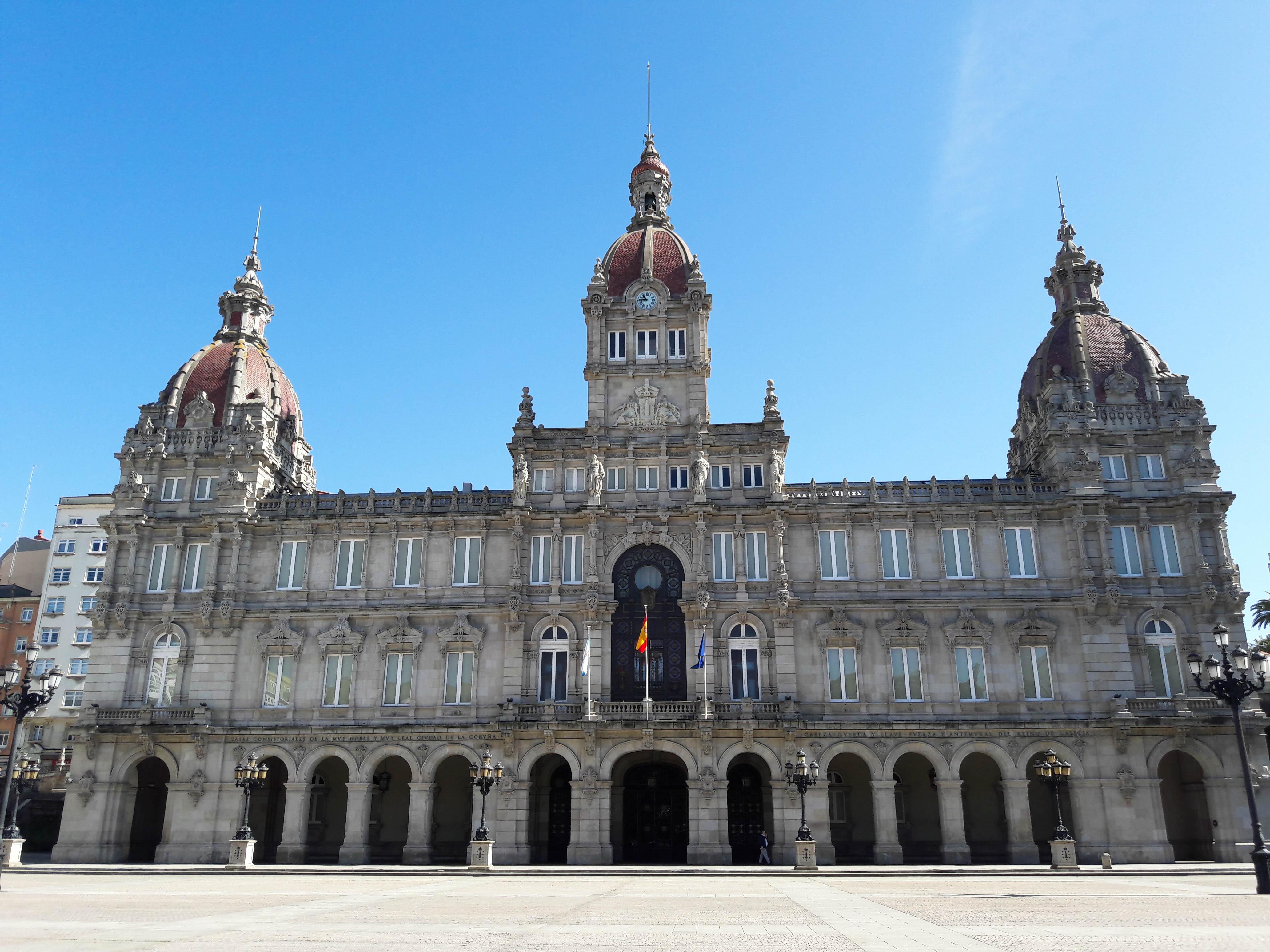 Palacio Municipal, A Coruña, Galicia