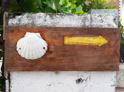 Shell waymarker