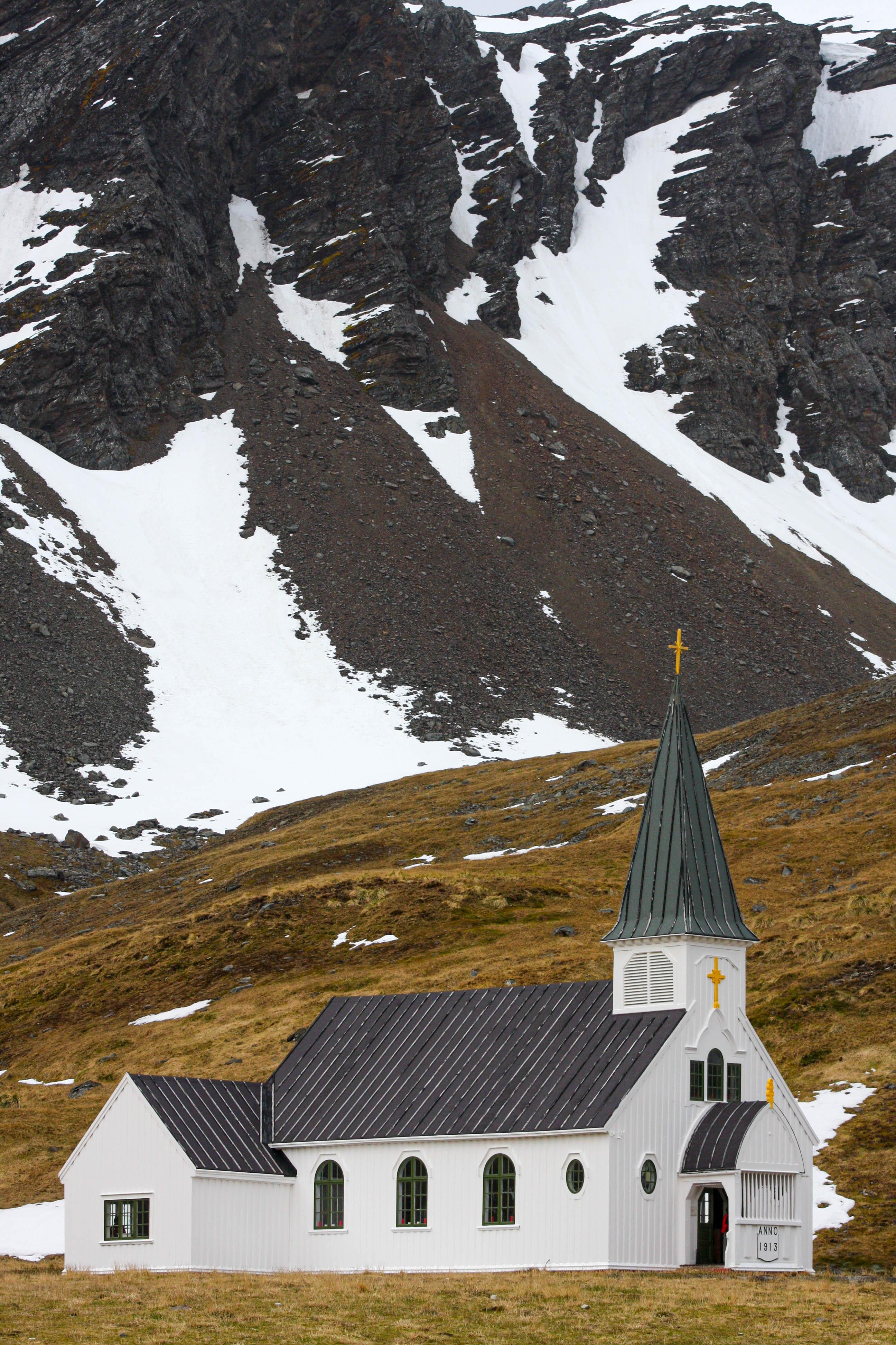 Norwegian Lutheran Church (Whaler's Church), Grytviken, South Georgia