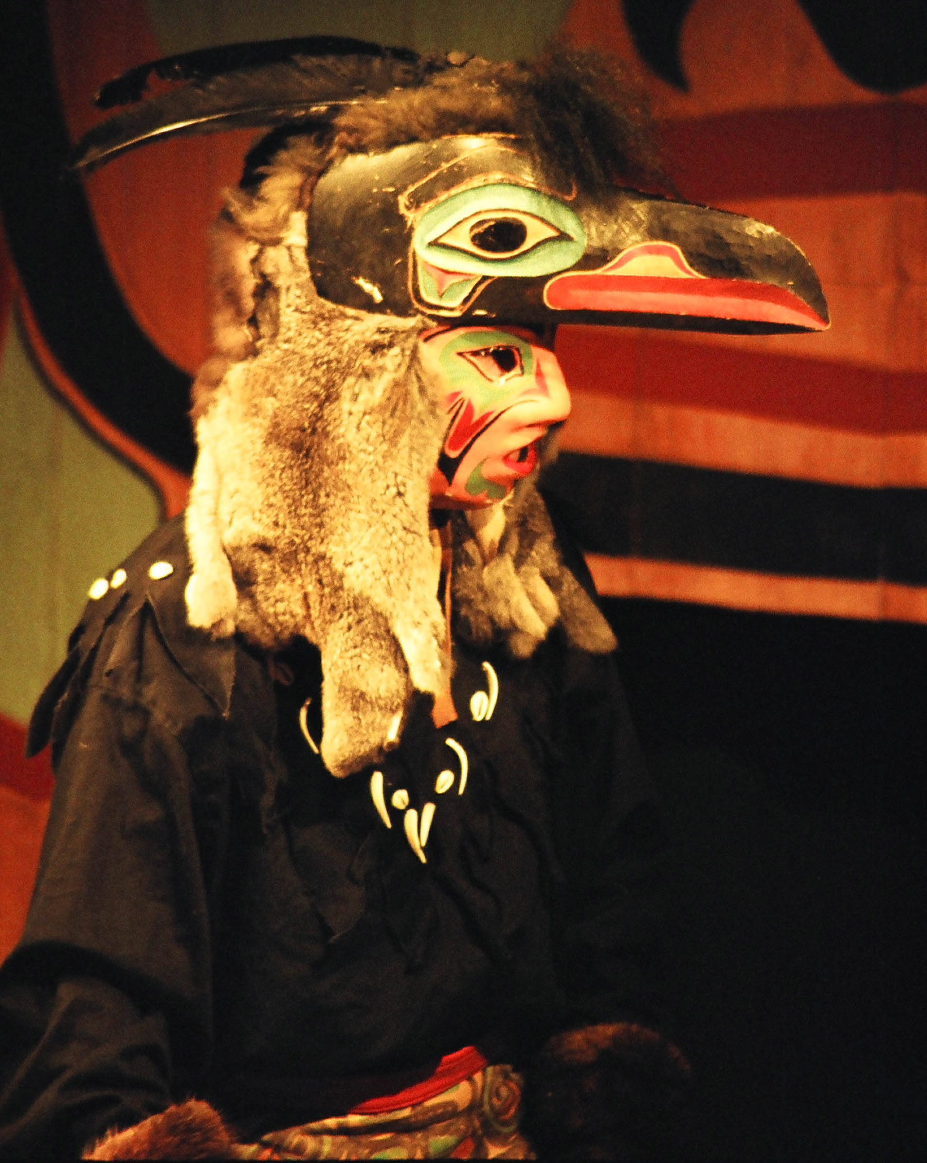Raven, The Chilkat Dancers, Haines