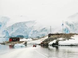 Approaching Port Lockroy, Antarctic Peninsula