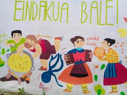 Basque mural, Itziar