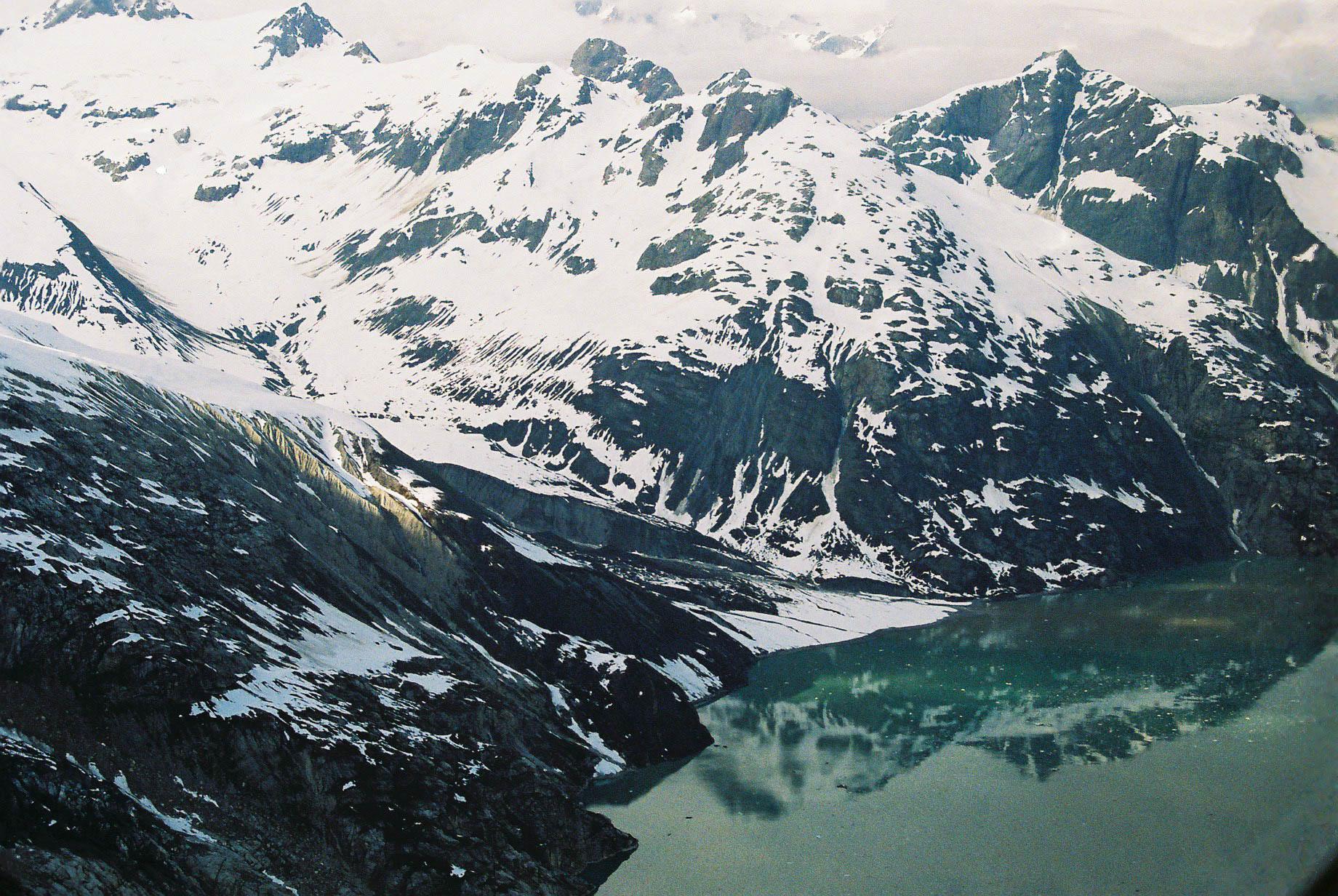 Mount Crillon reflections, Glacier Bay NP