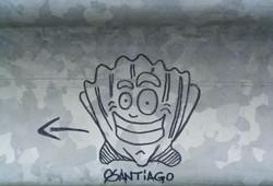 Camino grafitti