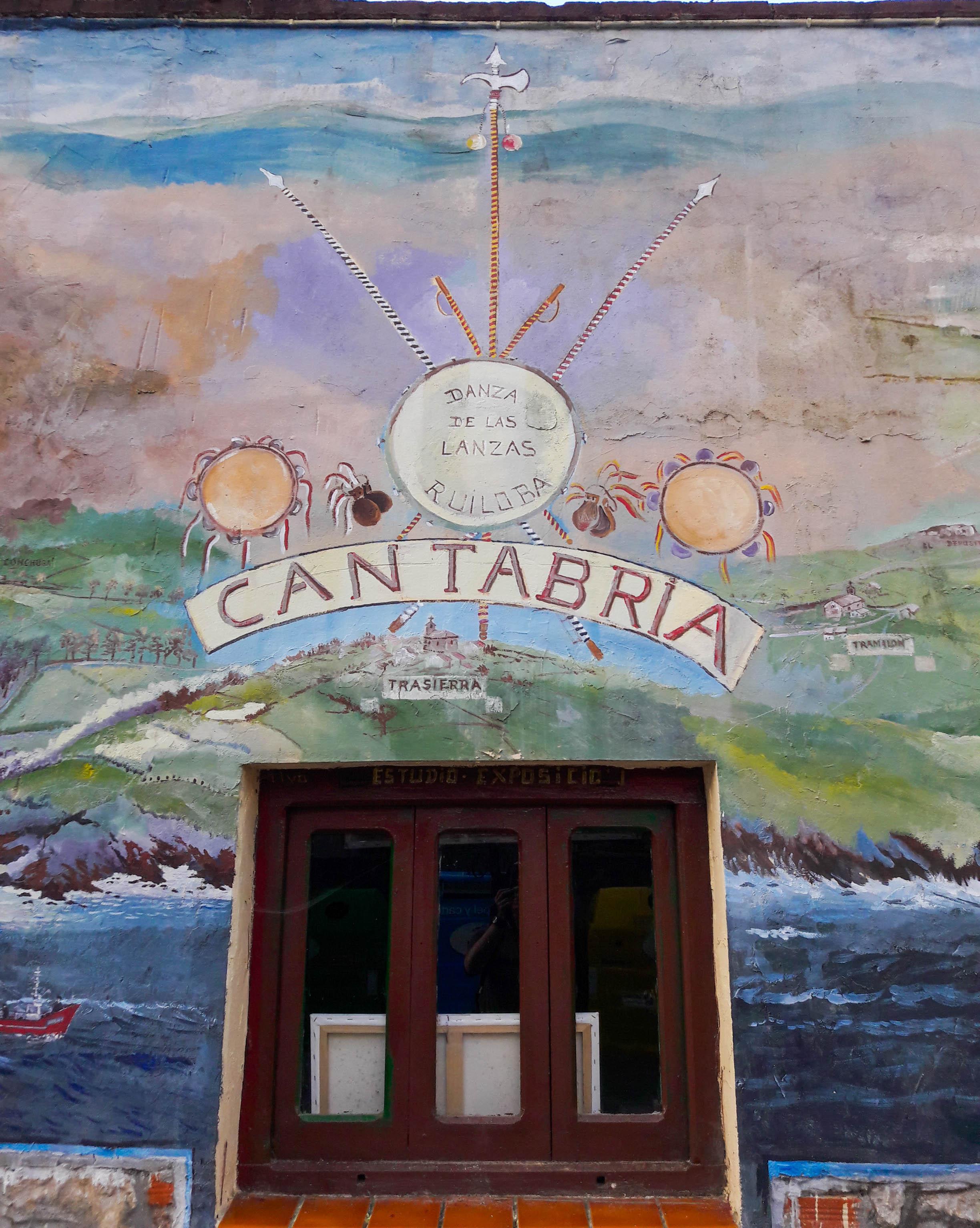 Cantabria mural