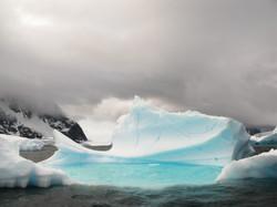 Ice throne, Pléneau Island, Antarctica