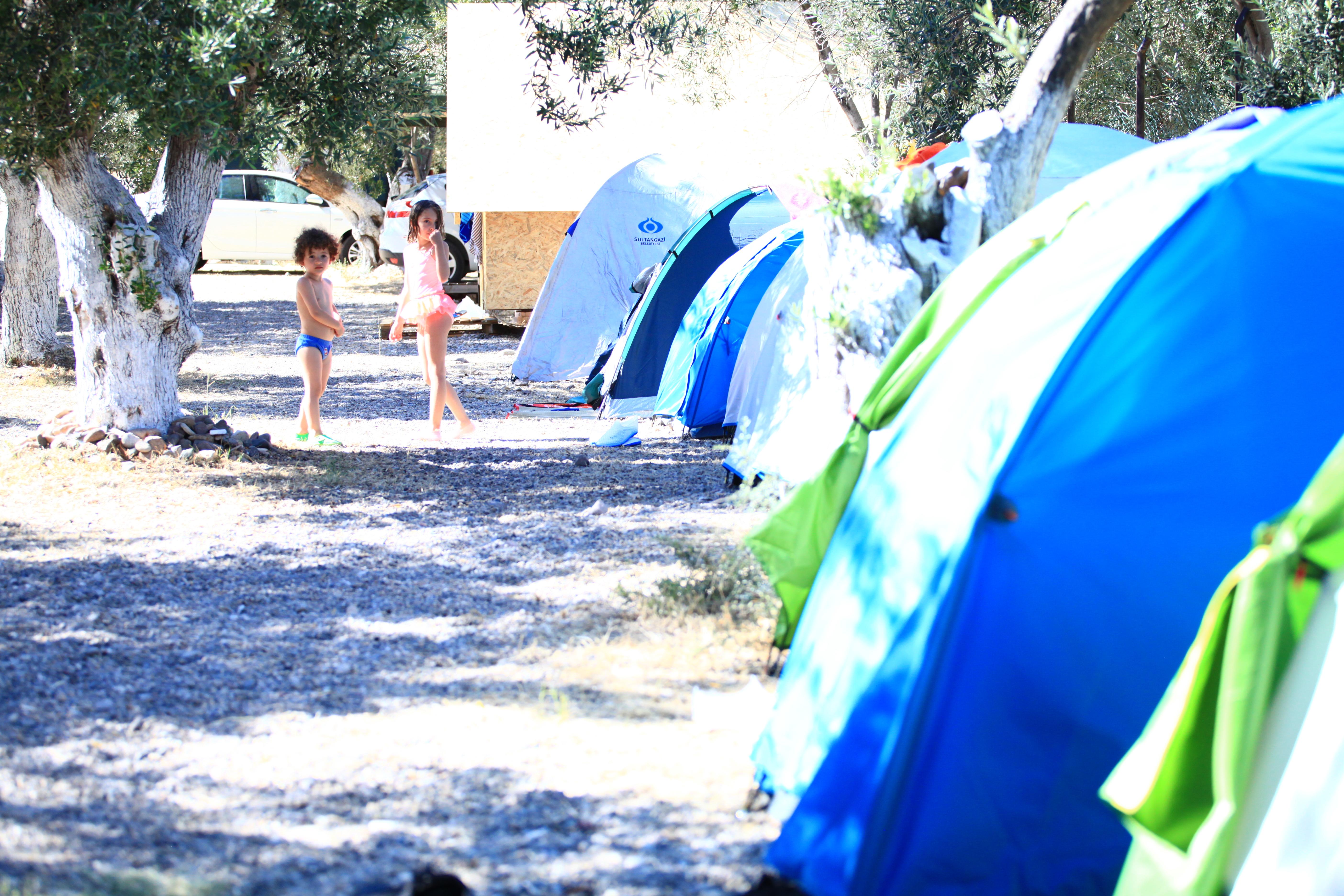 Çadırlarımızda