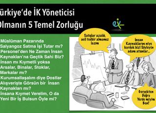 Türkiye'de İK Yöneticisi Olmanın 5 Temel Zorluğu