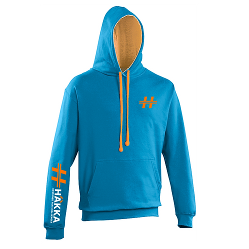Sapphire and Orange Hoodie