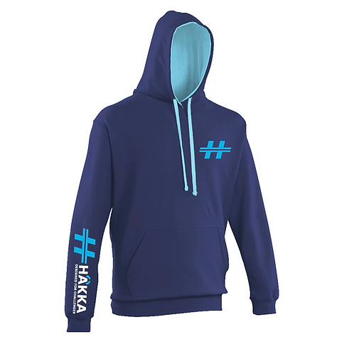 Navy and Sapphire Hoodie