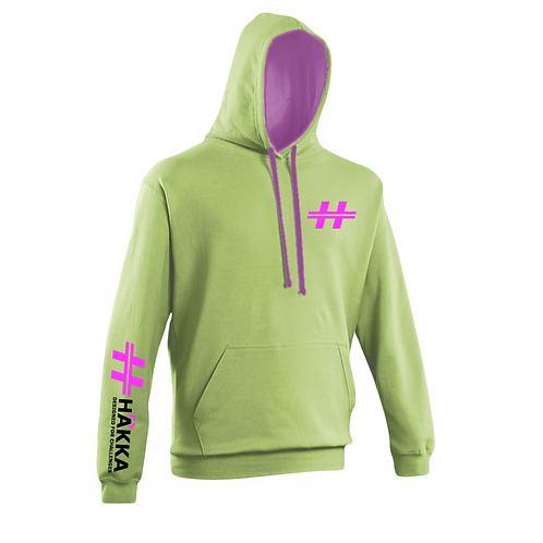 Lime and Purple Hoodie