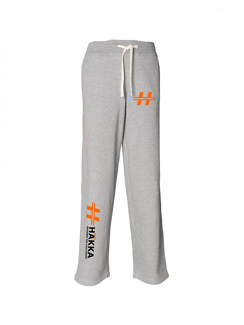 Grey Athletic Track Pants