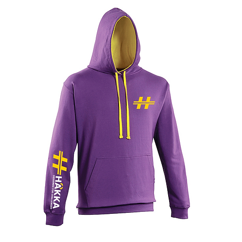 Purple and Gold Hoodie