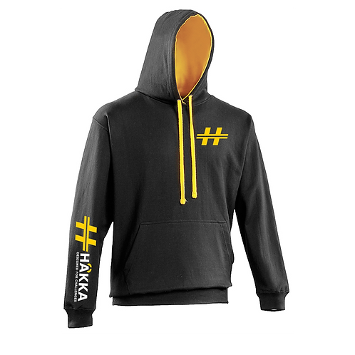 Black and Gold Hoodie