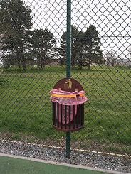 The K.I.T exterior rubbish bin