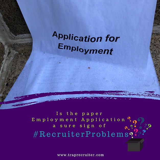 Is The Paper Employment Application Obsolete Traprecruiter