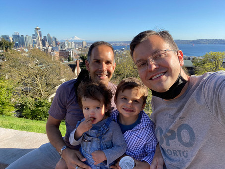 Trilingual Mateo And His Dads