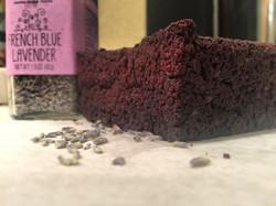 Lavender Choclate Brownie