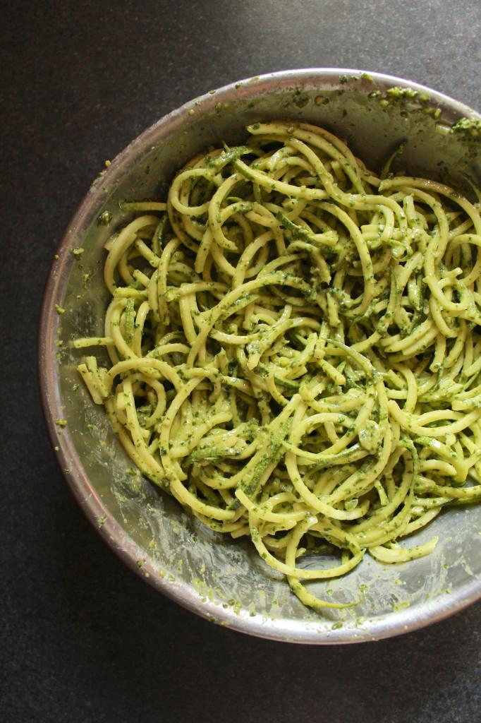 Gluten Free Nut Pesto
