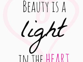 Schoonheid is.... Je goed in je vel voelen!