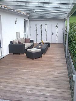 Holzboden Terrasse