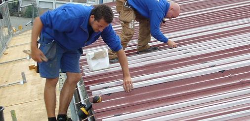 Solardach Bauen