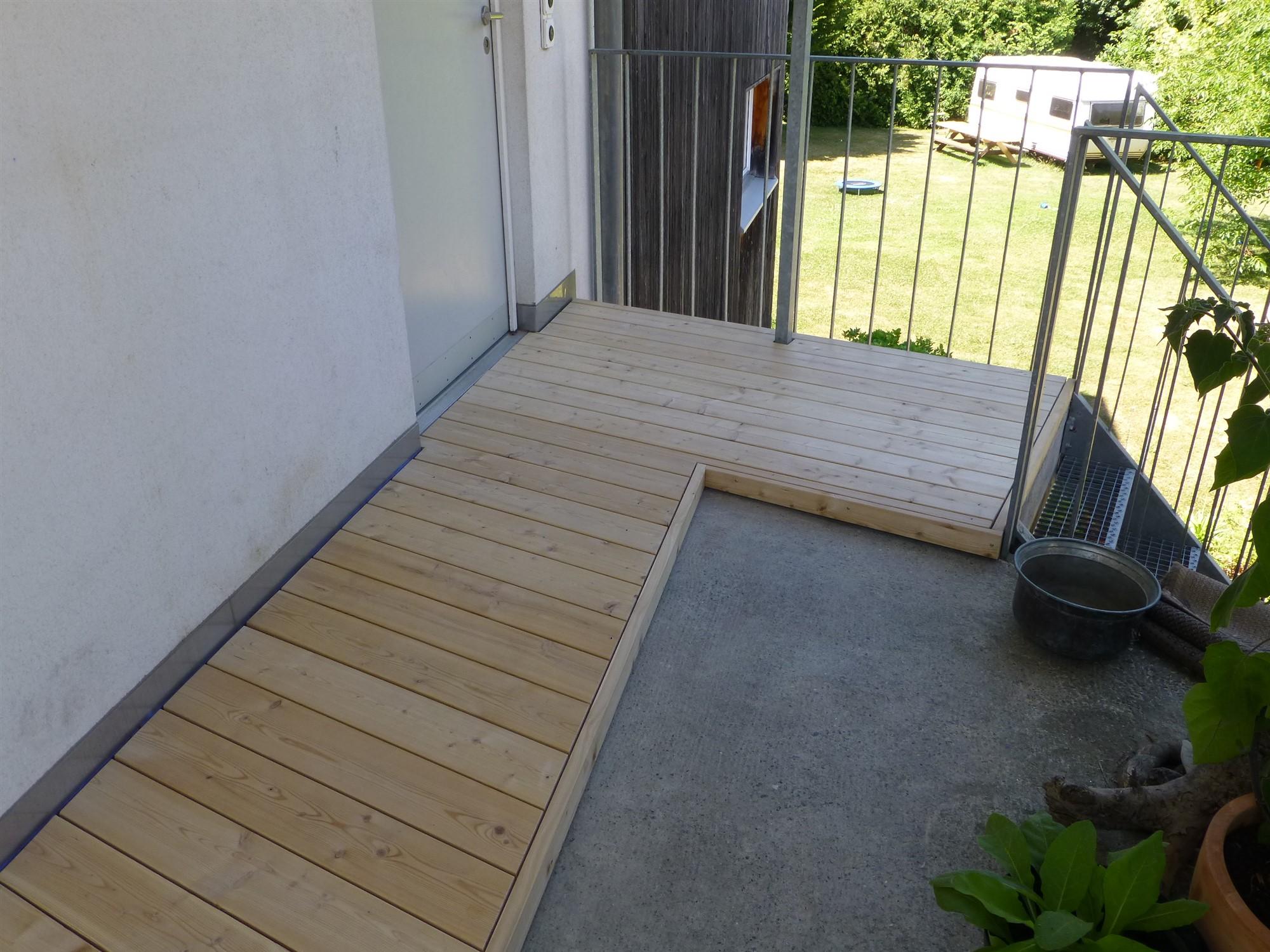 Holzboden Draussen