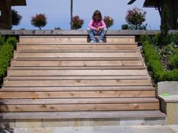 Sitztreppe