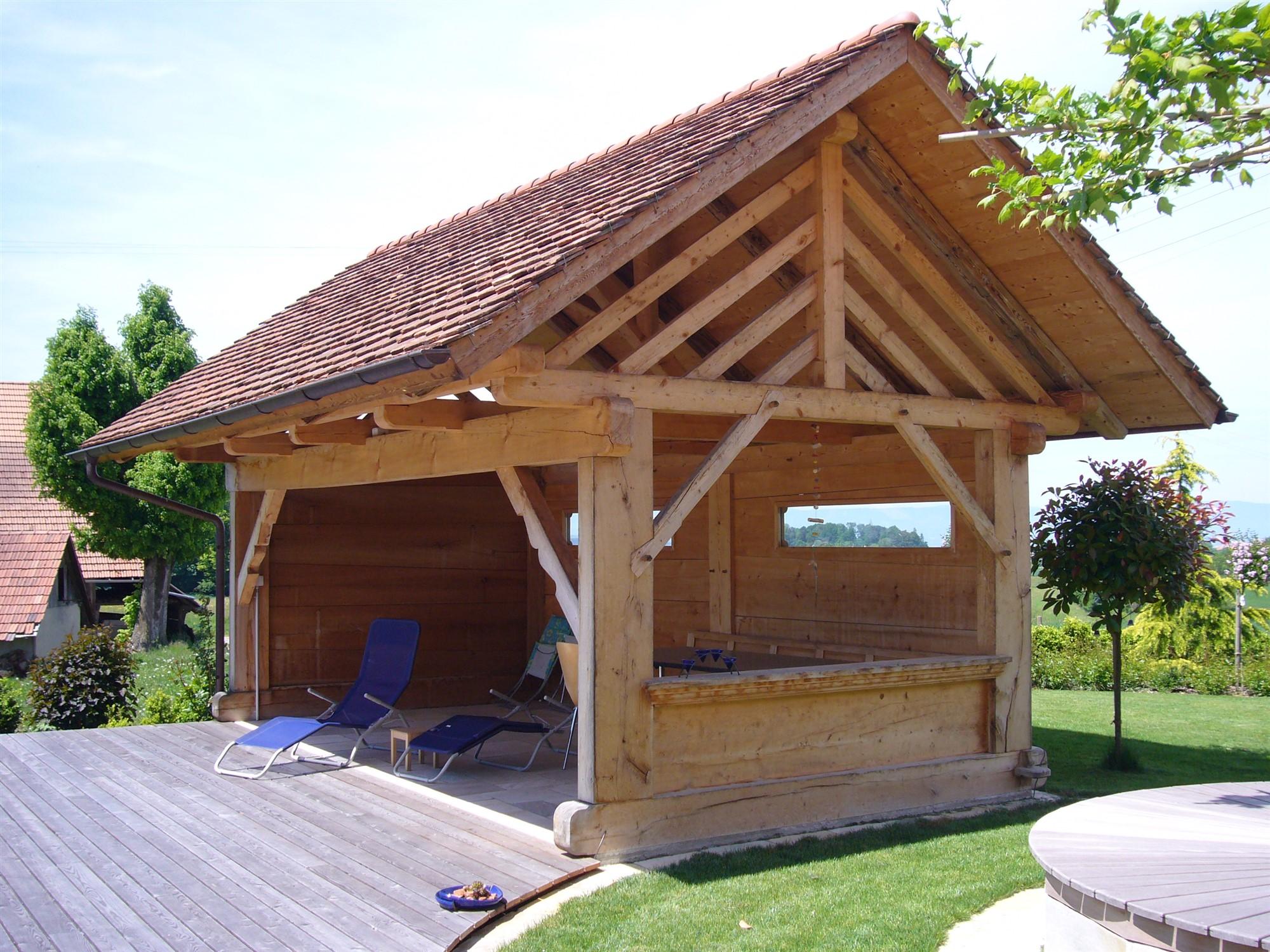 Gartenhaus Offen