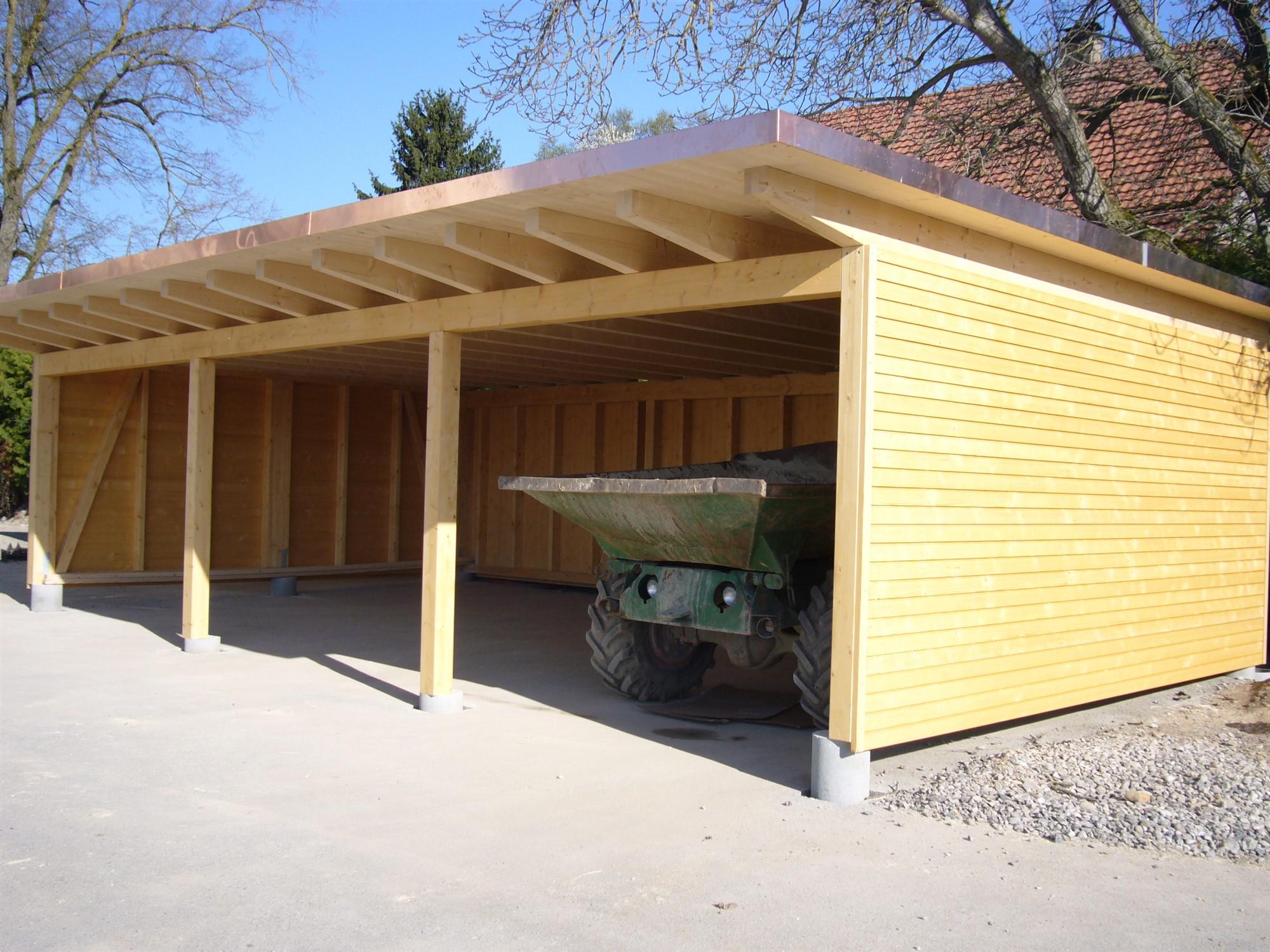 Carport Holz