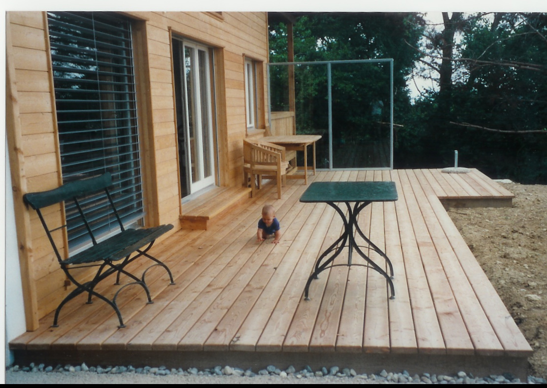 Holz Terrassenboden