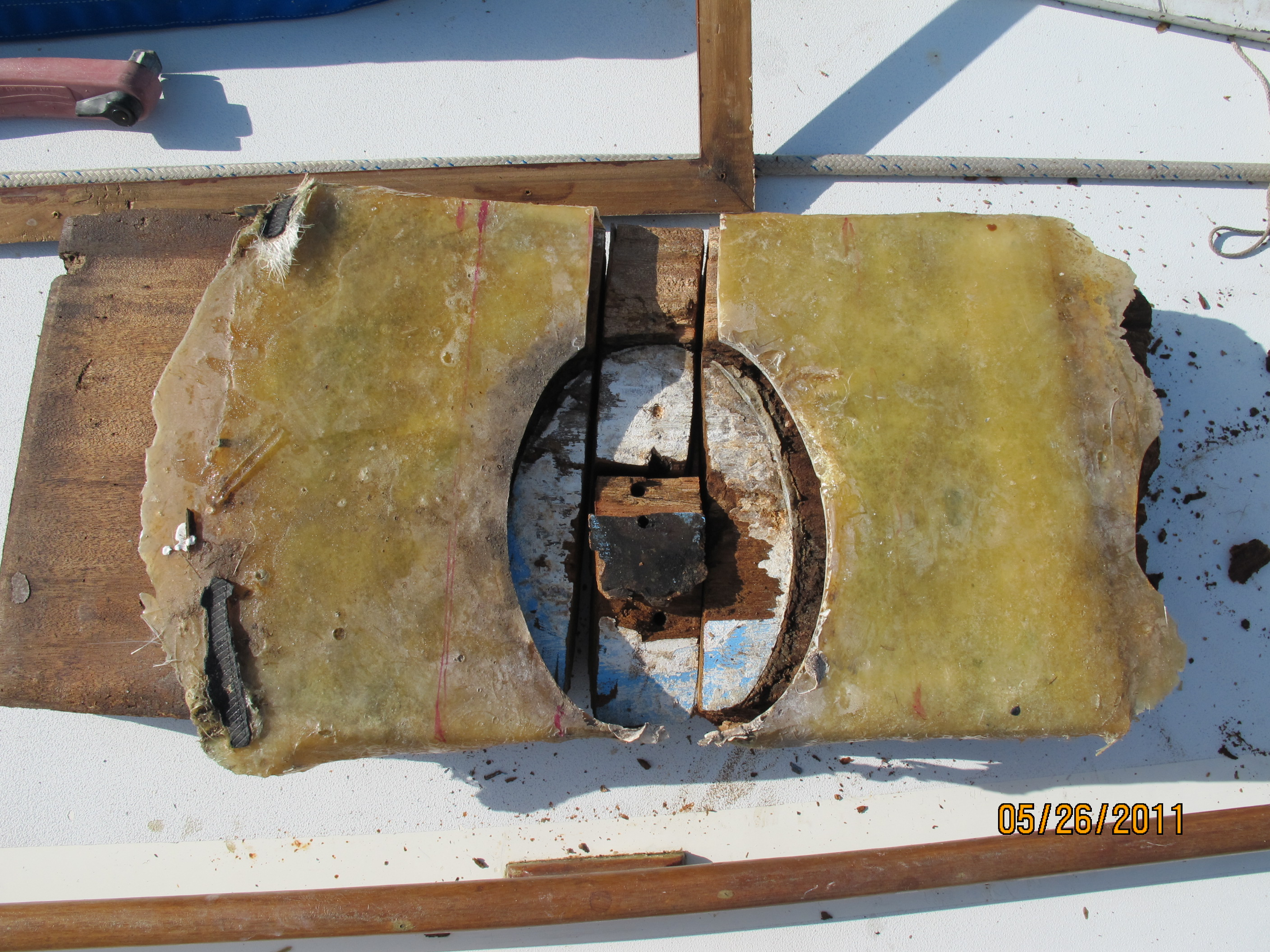 Rotted Mast Step