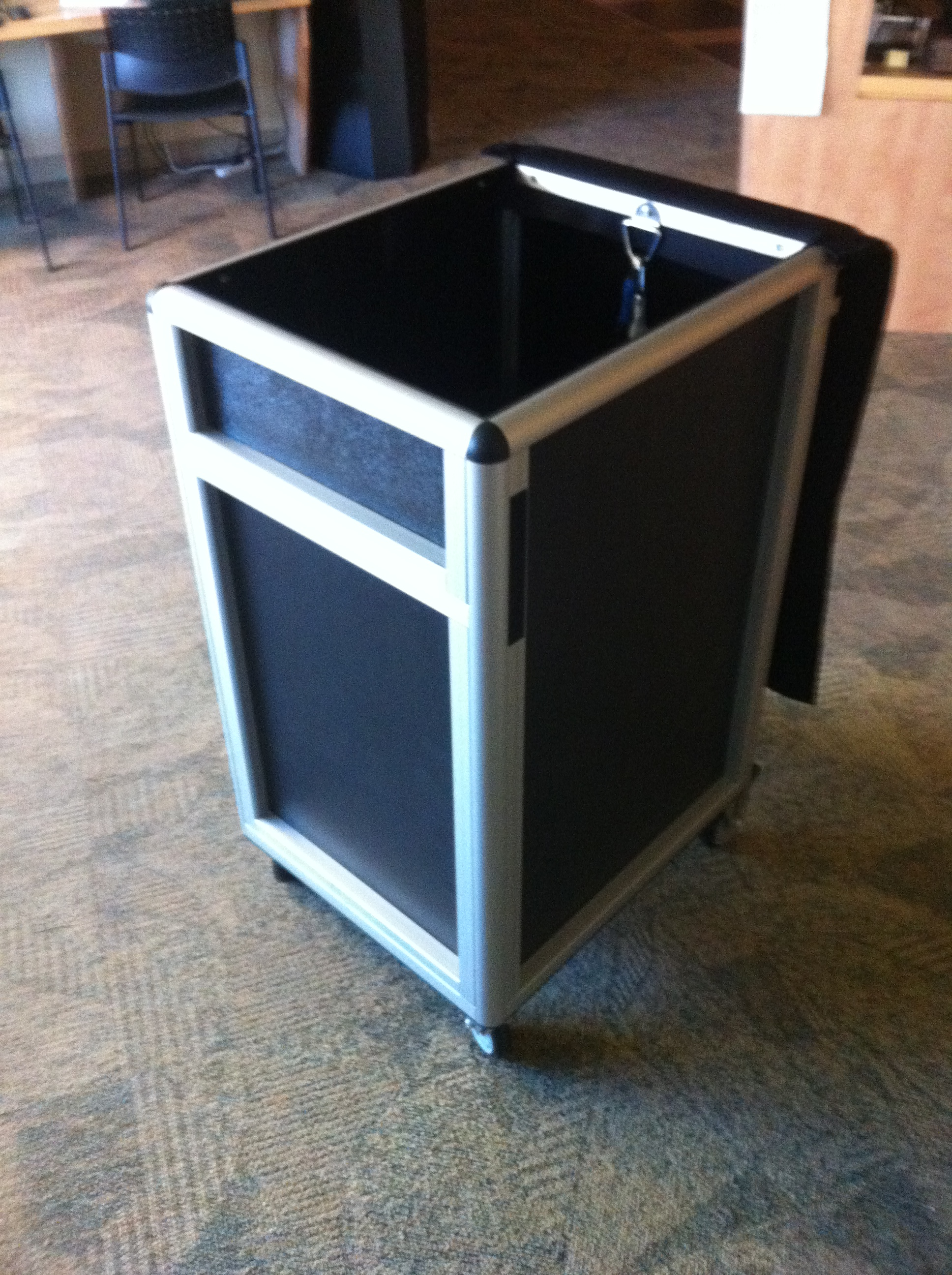 Transport Induction Bin