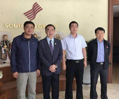 ร่วมประชุมกับ Battambang Conch Cement Co.,Ltd. ประเทศกัมพูชา