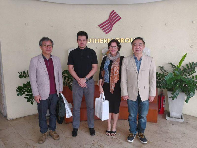 Welcome Mr. Dongmin LEE, President and Ms. Rochelle SRHOJ.