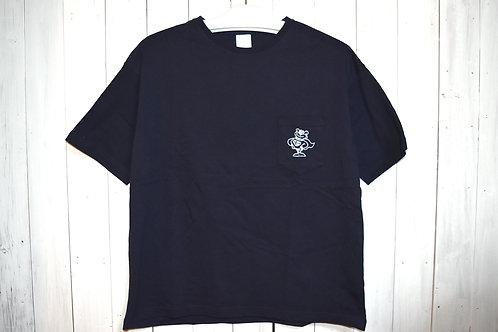 Pit Bear Pocket Tee Navy