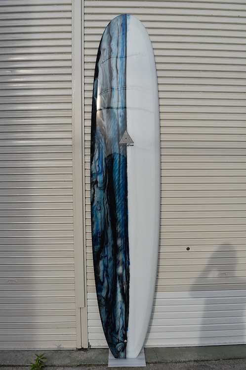 Ugly Betty 9'4 x 22'7/8 x 3 Black Navy abstract / Clear 006