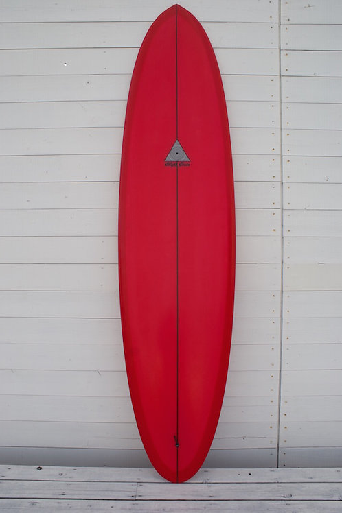 Lucy 7'6 x 21'7/8 x 2'7/8 Cherry Red tint 003