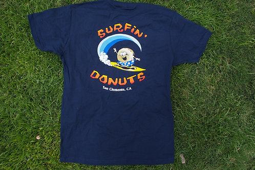 Surfin' Donuts Tee Navy