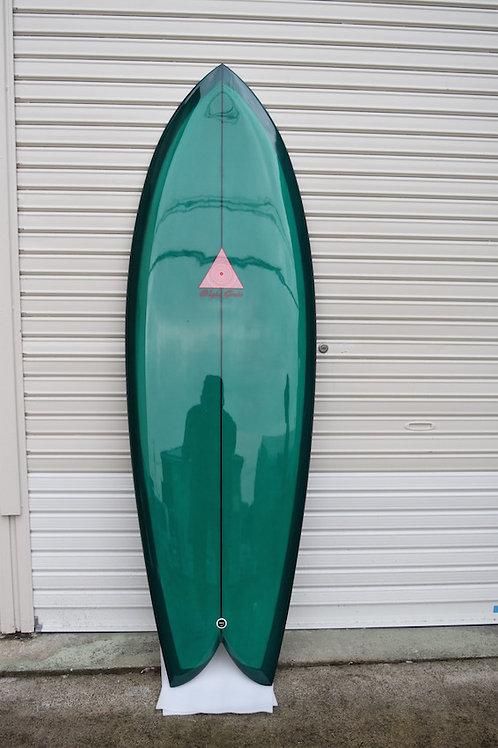Fish 5'8 x 21 x 2'1/2 Dark Green tint 003