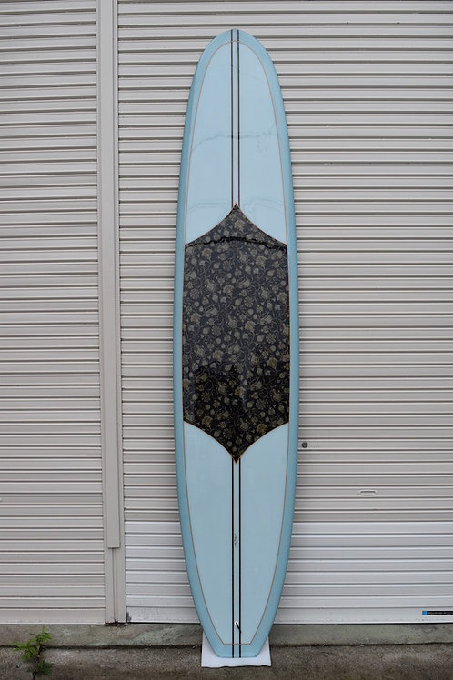 Fat Back 9'6 x 23 x 3 Light Blue / Fabric in ray 001