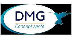 Logo DMG Concept Santé, matériel médical, Urostim 2, neurostimulation, formation à domicile, Sud-est, Toulon