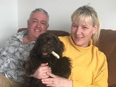 Anne and Gerry join Doggie Holiday Homes