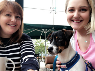 Christine and Kennedy join Doggie Holiday Homes Cams Hill