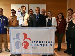 Le Scoutisme Français s'engage au sein de la Métropole de Montpellier
