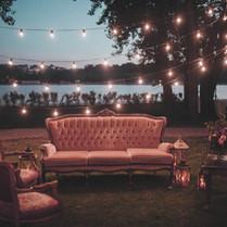 Décorations de mariage en plein air